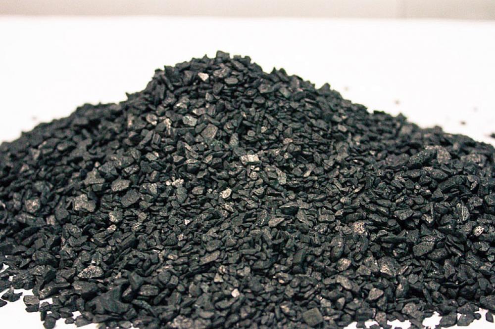 黒鉛粉加炭材