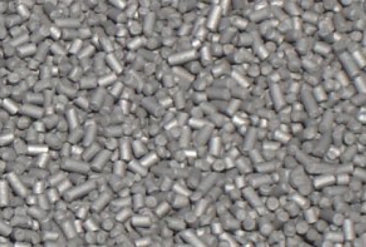 Granulated graphite